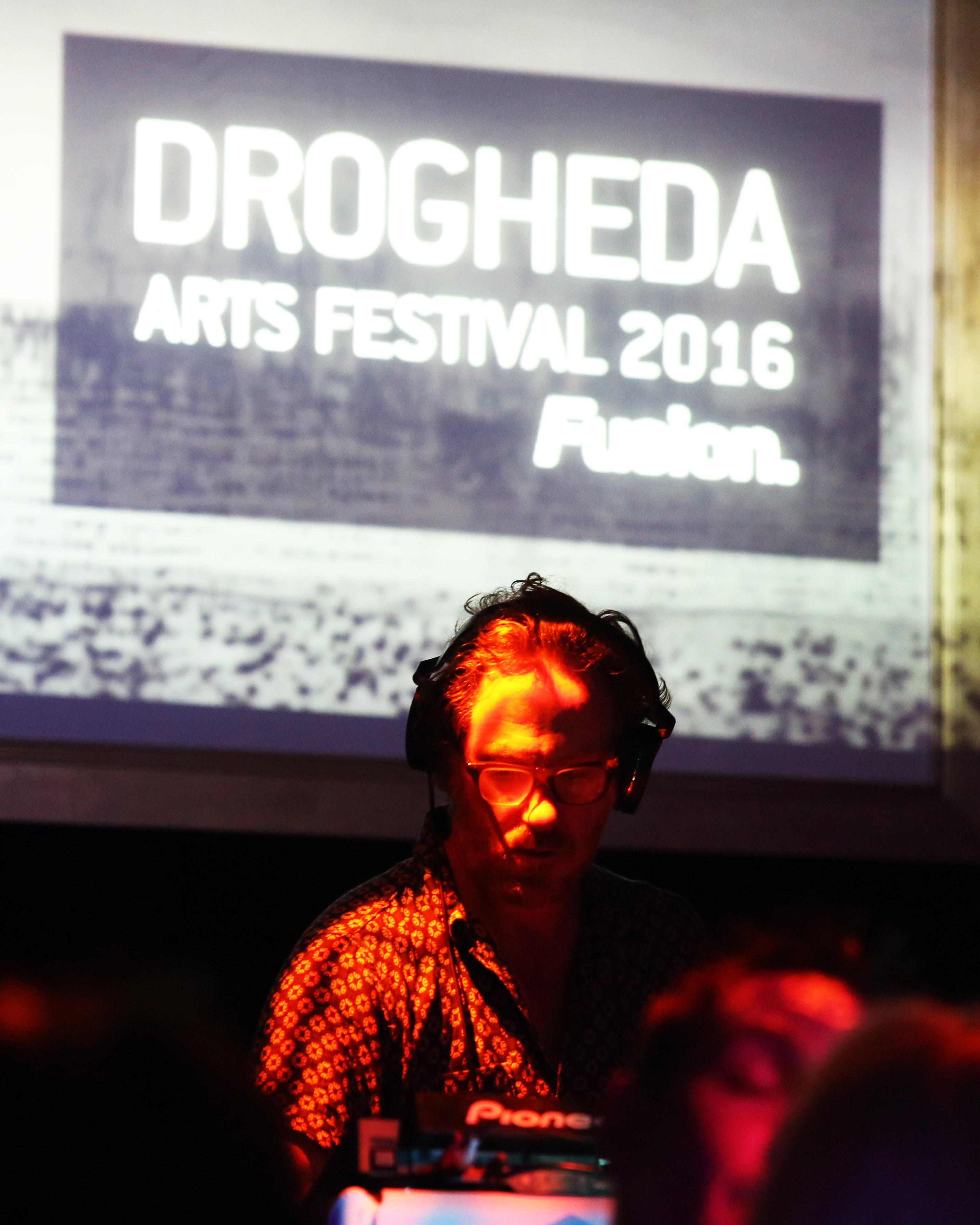 DJ & producer David Holmes at Fusion during Drogheda Arts Festival 2016. Photo-Jenny Matthews