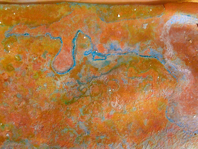 Corrosive copper. Drogheda