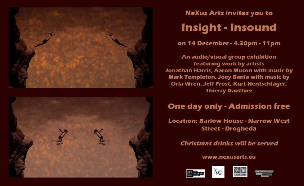 Insight in Sound - AV group exhibition 2013