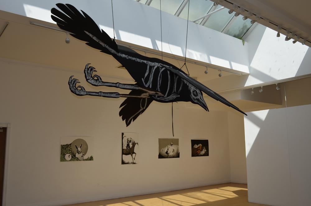 Erica il Cane - Exhibition installation shot 2012