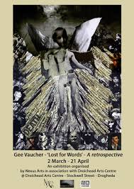 Gee Vaucher 'Lost for words' Poster 2012
